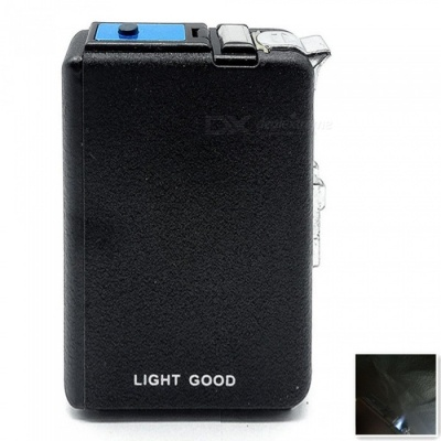 Portable Integrated Gas Inflatable Windproof Lighter with Cigarette Case Function