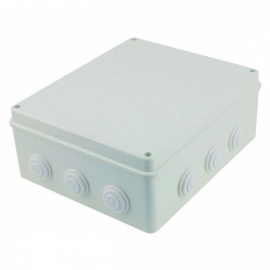 YENISEI-300x250x120mm-White-ABS-Dustproof-IP65-Enclosure-Square-Junction-Box