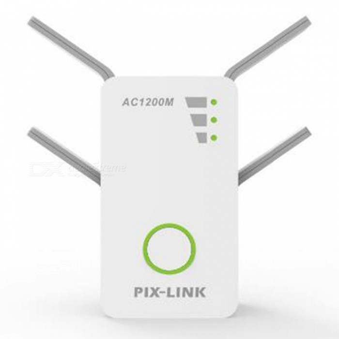 Mini-Portable-1200M-Dual-Band-Wireless-Router-White