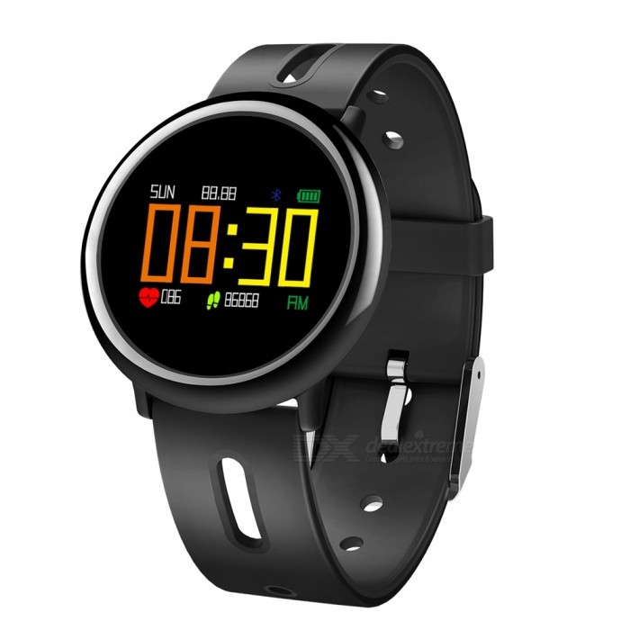 HB08 0.95quot OLED Smart Bracelet w/ Heart Rate Monitor, Blood Pressure, Fitness Activity Tracker, Pedometer
