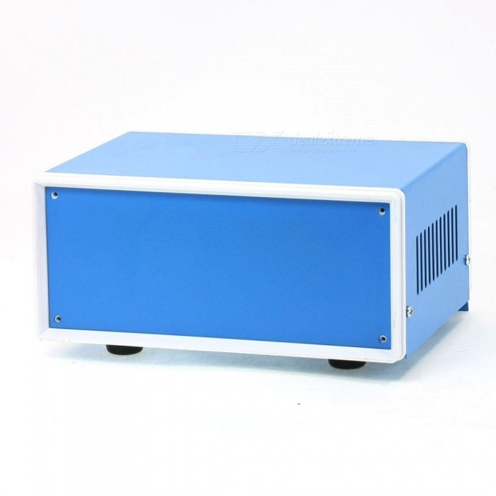 RXDZ-170mmx130mmx75mm-Blue-Metal-Enclosure-Case-DIY-Junction-Box