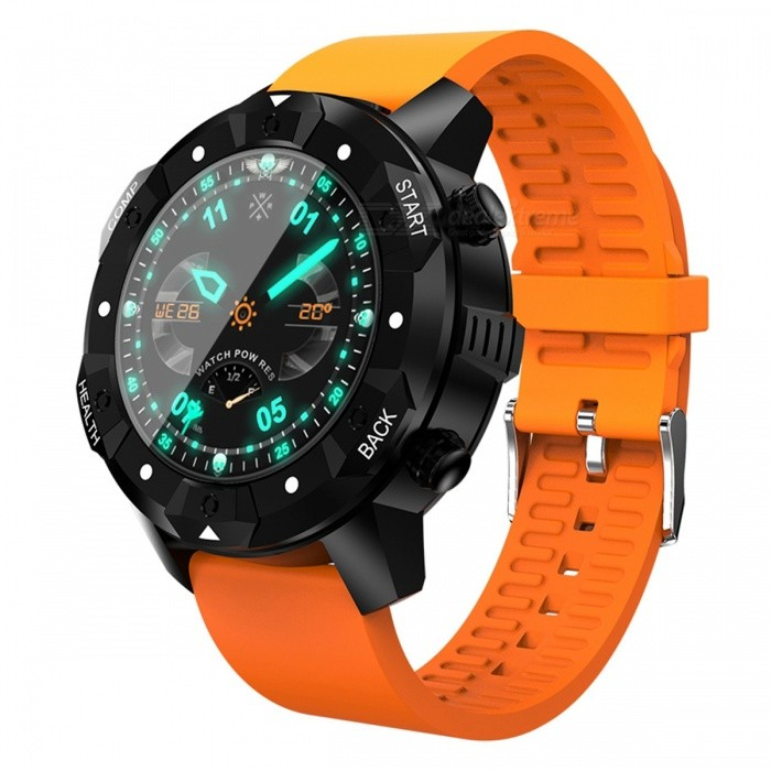 GPS 3G Smart Watch Phone w/ Heart Rate Monitor, Support SIM Wi-Fi, 1GB RAM + 16GB ROM - OrangeSmart Watches<br>ColorOrangeQuantity1 DX.PCM.Model.AttributeModel.UnitMaterialABSCPU ProcessorMTK6580Screen Size1.39 DX.PCM.Model.AttributeModel.UnitScreen Resolution400 * 400Touch Screen TypeYesBluetooth VersionBluetooth V4.0Compatible OSAndrold 5.1LanguageEnglishWristband Length22 DX.PCM.Model.AttributeModel.UnitWater-proofIP67Battery ModeNon-removableBattery TypeLi-polymer batteryBattery Capacity550 DX.PCM.Model.AttributeModel.UnitStandby Time24-48 DX.PCM.Model.AttributeModel.UnitPacking List1 x 3G Smart Watch Phone1 x Charging Cable1 x Instruction book<br>