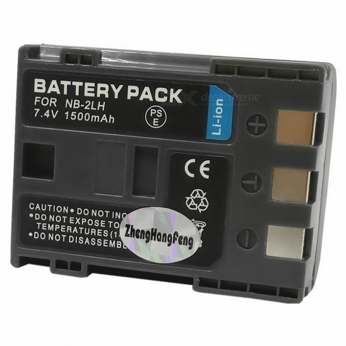 NB-2L/2LH 1500mAh Battery Pack for Canon ELURA 40MC/EOS350D - Grey
