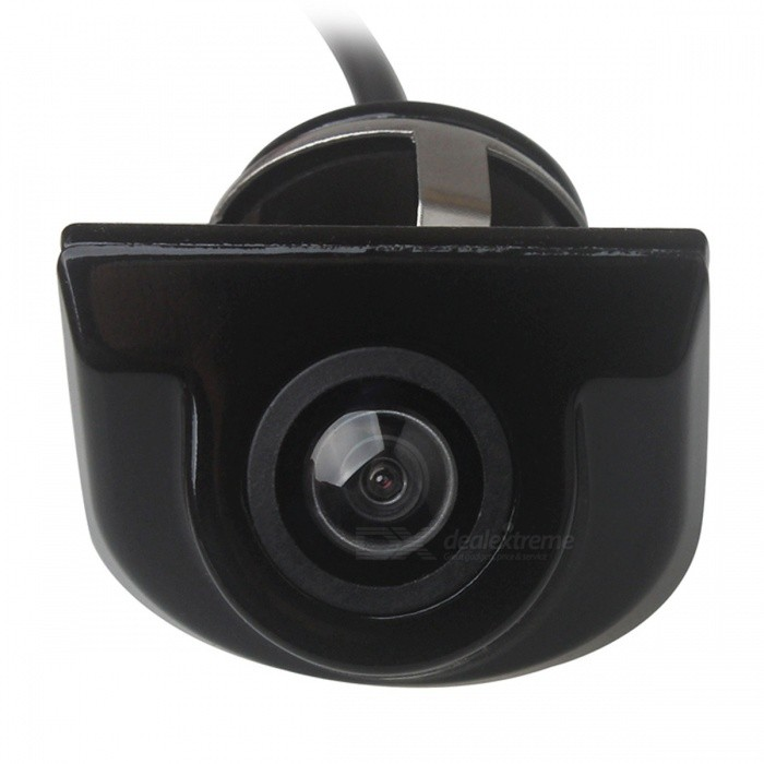ZIQIAO Universal Car HD Waterproof Reversing Rear View Camera - BlackRearview Mirrors and Cameras<br>ColorBlackModelZHS-028Quantity1 DX.PCM.Model.AttributeModel.UnitMaterialMetalCompatible MakeOthers,UniversalCompatible Car ModelUniversalStyleStickCamera TypeWiredVideo SystemNTSCViewing Angle135~170 DX.PCM.Model.AttributeModel.UnitIR Night VisionNoNight Vision Distance3 DX.PCM.Model.AttributeModel.UnitResolution480 DX.PCM.Model.AttributeModel.UnitEffective Pixels480Distance Ruler LineYesMinimum Illumination0.1 DX.PCM.Model.AttributeModel.UnitWater-proofIP68Power SupplyDC 12VPacking List1 x Rearview camera (46.5cm-cable)1 x Video cable (593cm)1 x Power cable (114cm)1 x English user manual1 x Hole Saw<br>