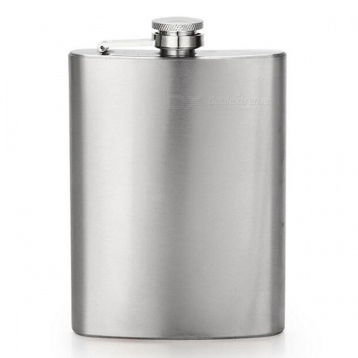 CTSmart AT6629 Outdoor Mountaineering Fishing Stainless Steel Portable Hip Flask - SilverFirst Aid<br>ColorSilverModelAT6629Quantity1 DX.PCM.Model.AttributeModel.UnitMaterialStainless steelBest UseCamping,Mountaineering,TravelPacking List1 x Hip Flask<br>