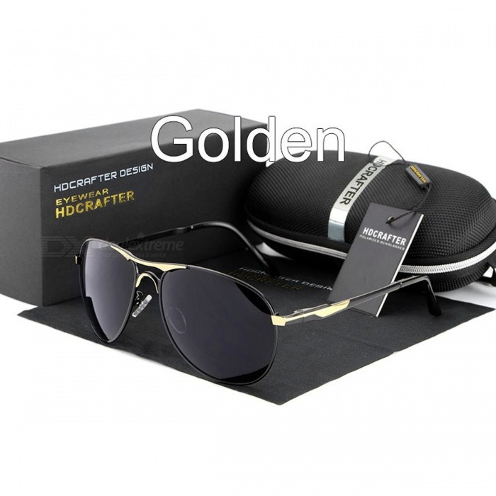HDCRAFTER-High-Quality-Brand-Designer-Cool-Sunglasses-Polarized-10025-UV400-Protection-Eyewear-for-Men-golden