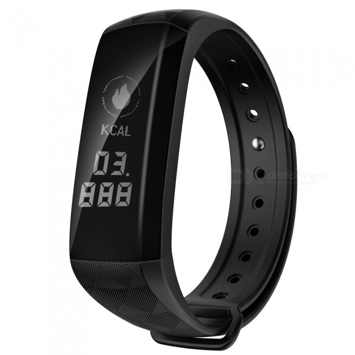 M2H 0.96 OLED BT4.0 IP67 Smart Bracelet with Heart Rate Monitoring - BlackSmart Bracelets<br>ColorBlackModelM2HQuantity1 DX.PCM.Model.AttributeModel.UnitMaterialPC + Silica gelWater-proofIP67Bluetooth VersionBluetooth V4.0Touch Screen TypeYesOperating SystemNoCompatible OSAndroid4.4 (contain), IOS8.0 contain) aboveBattery Capacity80 DX.PCM.Model.AttributeModel.UnitBattery TypeLi-polymer batteryStandby Time15 DX.PCM.Model.AttributeModel.UnitPacking List1 x Smart Bracelet1 x User Manual<br>