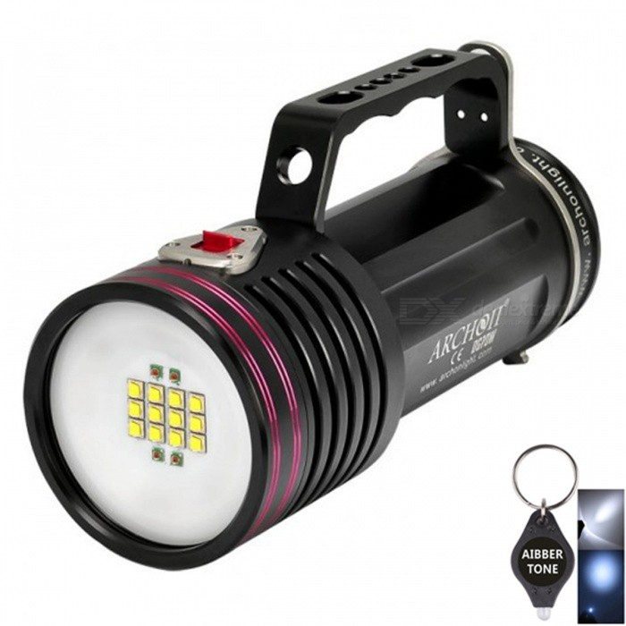 ARCHON-DG70W-WG76W-XM-L2-LED-6500LM-Rechargeable-Underwater-200Meter-Waterproof-Handheld-Diving-Torch-Light-2b-Battery-Pack