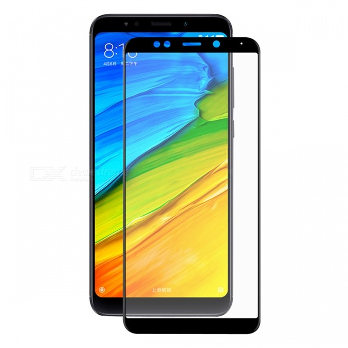 Hat-Prince 0.2mm 9H 3D Tempered Glass Full Cover Protector for Redmi 5 Plus - BlackScreen Protectors<br>ColorBlackModel-MaterialCarbon Fiber + Tempered GlassQuantity1 DX.PCM.Model.AttributeModel.UnitCompatible ModelsRedmi 5 PlusFeatures3D,HD,Scratch-proof,Tempered glassPacking List1 x Screen Protector1 x Dust Sticker1 x Cleaning Cloth1 x Alcohol Prep Pad<br>