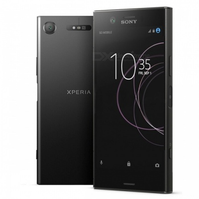 Sony G8441 Xperia XZ1 Compact Mobile Phone with 4GB RAM, 32GB ROM - Black