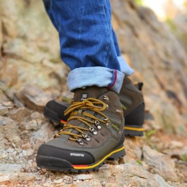Ctsmart-8037-Outdoor-Solid-Color-Mens-High-Hiking-Shoes