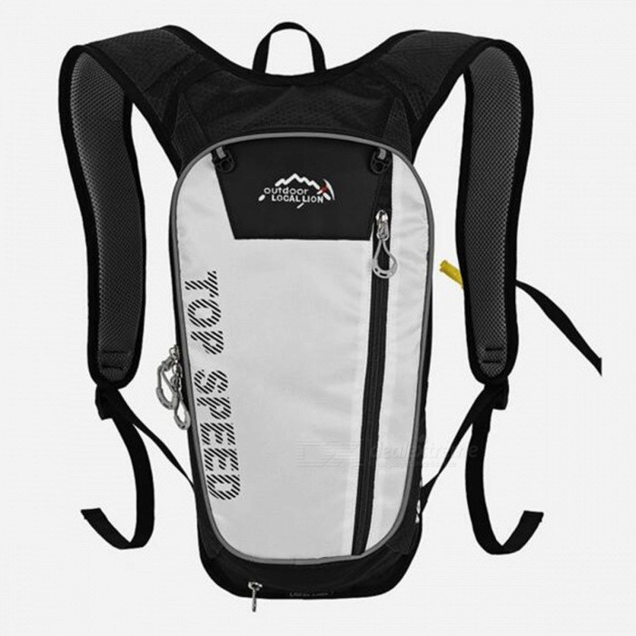 LOCAL LION 558 Multi-Function 20L Bike Mountaineering Hiking Sports Water Bag Backpack - BlackColorBlackBest UseClimbing,Rock Climbing,Family &amp; car camping,Backpacking,Camping,Mountaineering,TravelModel558Quantity1 DX.PCM.Model.AttributeModel.UnitMaterialPolyesterCapacity20LCapacity Range0L~20LRaincover includedNoPacking List1 x Water bag backpack<br>