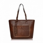 Portable-Large-Capacity-Womens-Shoulder-Tote-Bag-Messenger-Bag-with-Tassel-Fashion-Chic-PU-Leather-Handbag-Beautiful-bagbrown