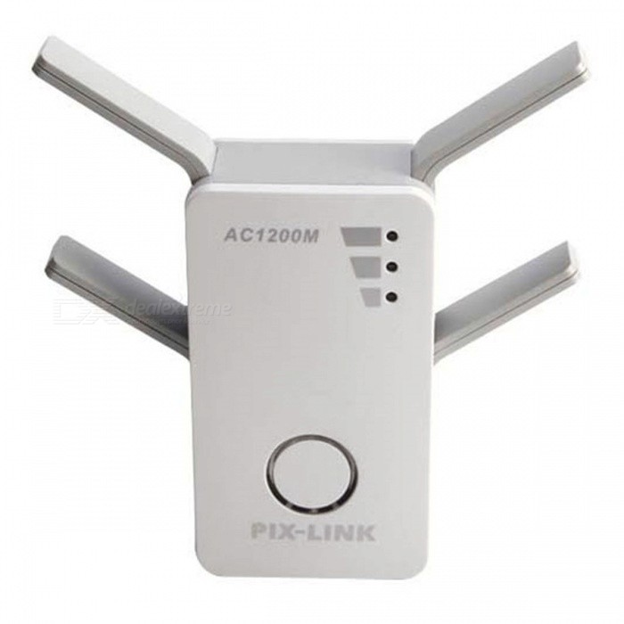 Mini-Portable-1200M-Dual-band-Wireless-Router-White-(US-Plug)