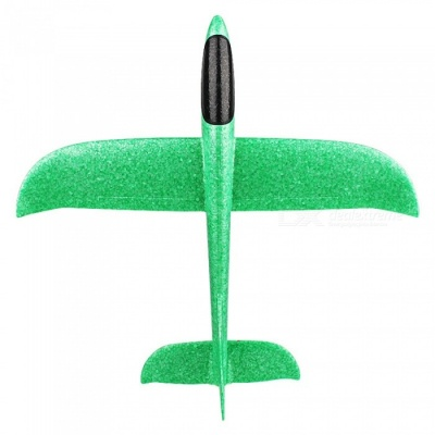 EPP Interactive Glider Model Fun Hand Throw Flying Plane Outdoor Toy for Children - Green