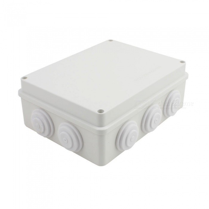 RXDZ-White-ABS-Dustproof-IP65-Enclosure-Square-Junction-Box-200x200x80mm