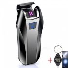 Windproof-USB-Rechargeable-Double-Arc-Pulse-Electronic-Cigarette-Lighter-Electric-Flameless-Plasma-Lighter