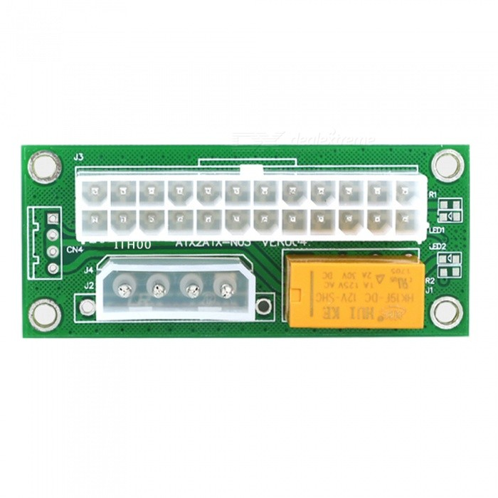 Buy Dayspirit Dual Power Supply Synchronous Start Line Card - Green with Litecoins with Free Shipping on Gipsybee.com