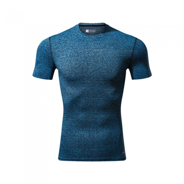 Ctsmart 119 Summer Tight-Fitting Fitness Short Sleeves Quick Drying T-shirt - Light Blue (2XL)Hoodies &amp; Sweatshirts<br>ColorLight blueSize2XLModel119Quantity1 DX.PCM.Model.AttributeModel.UnitShade Of ColorBlueMaterialPolyester + spandexStyleSportsShoulder Width69 DX.PCM.Model.AttributeModel.UnitChest Girth98 DX.PCM.Model.AttributeModel.UnitWaist Girth98 DX.PCM.Model.AttributeModel.UnitSleeve Length29 DX.PCM.Model.AttributeModel.UnitTotal Length69 DX.PCM.Model.AttributeModel.UnitSuitable for Height185 DX.PCM.Model.AttributeModel.UnitPacking List1 x T-Shirt<br>