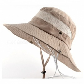 7aa6aee9 Summer Outdoor Sunscreen Large Brimmed Fishing Cap, Quick Drying ...