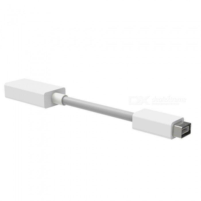 Dayspirit Mini DVI to HDMI Female Cable Adapter - WhiteAV Adapters And Converters<br>ColorWhiteModelN/AMaterialABSQuantity1 pieceConnectorHDMI,Mini DVIPacking List1 x Cable converter<br>
