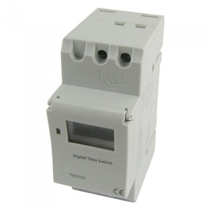 RXDZ-THC15A-Digital-LCD-Power-Weekly-Programmable-Timer-DCAC-12V-Time-Relay-Switch