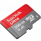 SanDisk Ultra 256GB microSDXC UHS-I Card with Adapter, 100MB/s U1 A1 SDSQUAR-256G for Android-based smartphones and tablets