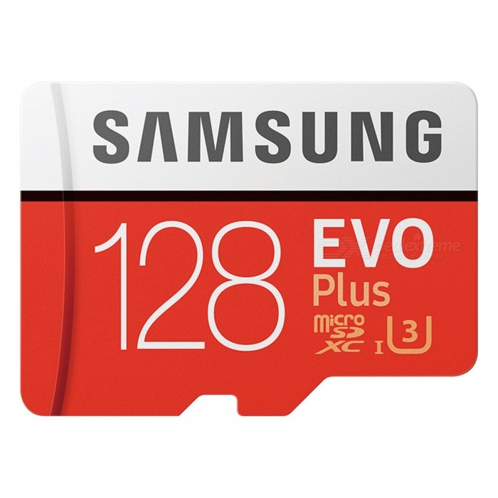 Samsung MicroSDXC EVO Plus Memory Card USH-1 U3 Class10 Up to 100M/S Micro SD Memory Storage Card