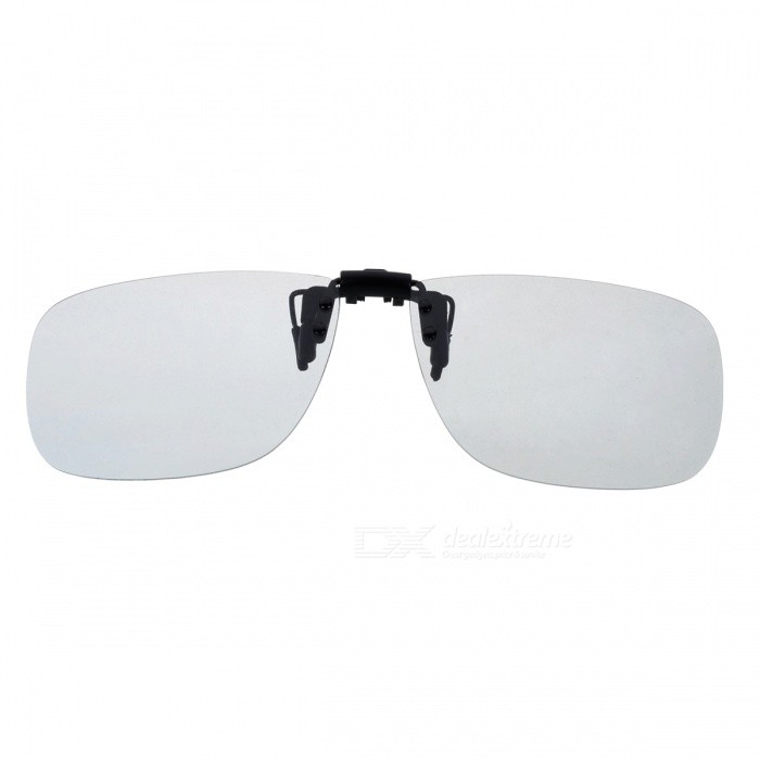 Buy Cool Color Clip-on Polarized Sunglasses Lens - Grey with Litecoins with Free Shipping on Gipsybee.com