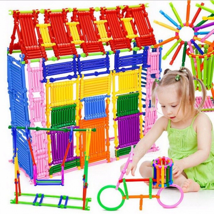 Buy Snowshine3 4022 Mathematical Intelligence Stick Figures Box Baby Preschool Table Game Toy Gift for Children - 250PCS Colorful with Litecoins with Free Shipping on Gipsybee.com