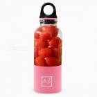 Portable-USB-Rechargeable-Juicer-Cup-500ml-Capacity-BPA-Free-Fruit-Juice-Blender-Pink