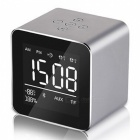 Multifunction-LED-Display-Alarm-Clock-Mini-Wireless-Bluetooth-Speaker-with-Built-in-Mic-8H-Music-Playing-Time-Gray