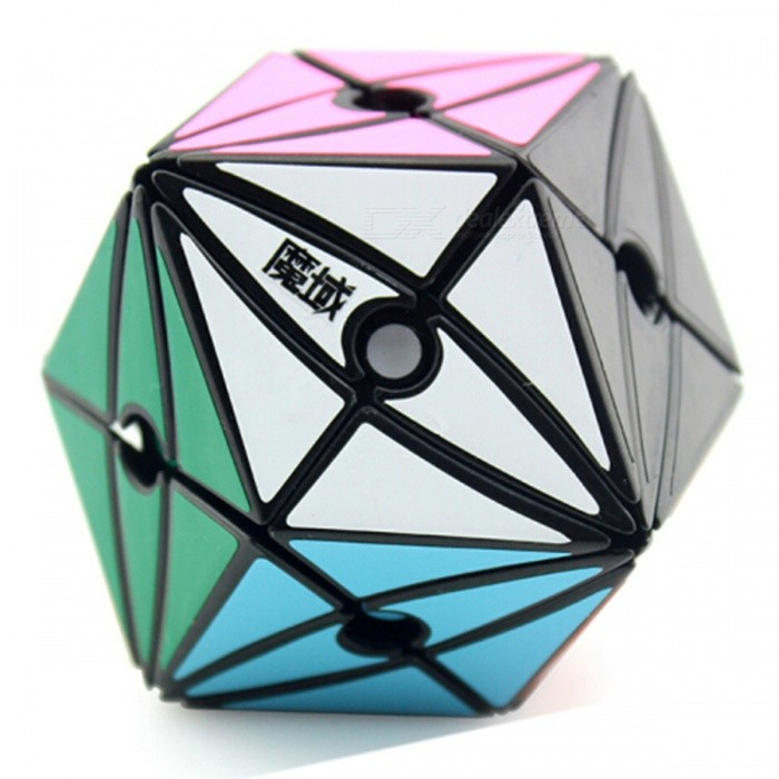 MoYu Evil Eye I 65mmx65mmx88mm Speed Smooth Magic Cube Puzzle Finger Toy - BlackMagic IQ Cubes<br>ColorBlackModelN/AMaterialABS PlasticQuantity1 pieceTypeOthers,Shaped RubikSuitable Age 3-4 years,5-7 years,8-11 years,12-15 years,Grown upsPacking List1 x Magic Cube1 x English + Chinese Manual<br>