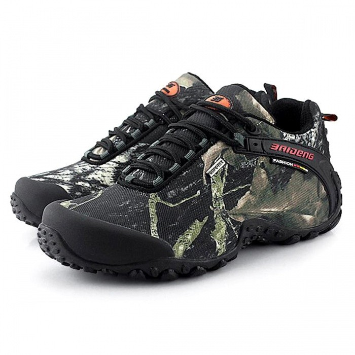 Buy CTSmart 8068 Multifunctional Outdoor Camouflage Men's Hiking Shoes - Gray (44) with Litecoins with Free Shipping on Gipsybee.com