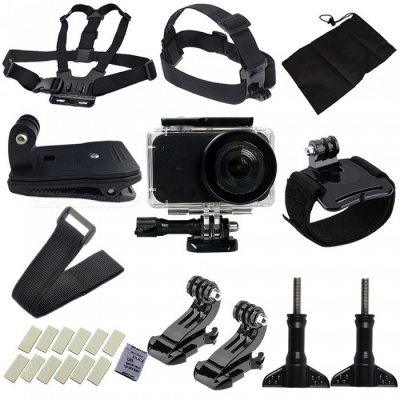 25Pcs Kit with Waterproof Camera Shell + J Type Base + Strap + Other Parts for Xiaomi MiJia Camera