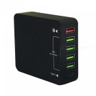 QC30-Fast-Quick-Charge-6-USB-Smart-Charger-Type-C-Charger-UK-Plug