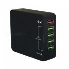 QC30-Fast-Quick-Charge-6-USB-Smart-Charger-Type-C-Charger-US-Plug