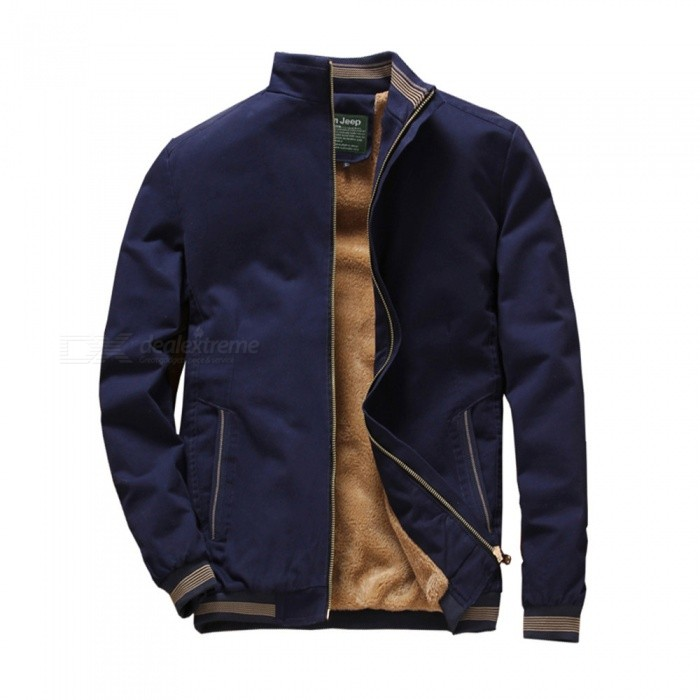 1021 Mens Winter Cool Warm Slim Jacket Coat - Dark Blue (4XL)Jackets and Coats<br>ColorDark blueSize4XLModel1021Quantity1 pieceShade Of ColorBlueMaterialcottonStyleFashionTop FlyZipperShoulder Width50 cmChest Girth120 cmWaist Girth120 cmSleeve Length67 cmTotal Length72.5 cmSuitable for Height190 cmPacking List1 x Jacket<br>