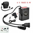 AIBBER-TONE-Portable-84V-6-x-18650-Battery-Pack-with-DC-USB-Port