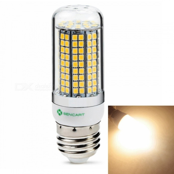 Sencart E27 8W 800LM SMD Warm White Energy Saving LED Light Blub Lamp, AC110V-130VE27<br>ColorE27 Warm White  110VModel180 LEDMaterialABS+LED+PCBForm  ColorWhiteQuantity1 piecePower8WPower SupplyOthers,110-130 VConnector TypeE27Chip BrandEpistarChip Type2835Emitter TypeOthers,2835SMD LEDTotal Emitters180Color BINWarm WhiteTheoretical Lumens1200 lumensActual Lumens800 lumensColor Temperature3000KDimmableNoBeam Angle360 °Packing List1 x LED Light Blub<br>