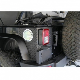 IZTOSS-Special-Accessories-Decorative-Tail-Door-License-Plate-Frame-with-Light-for-Jeep-Wrangler