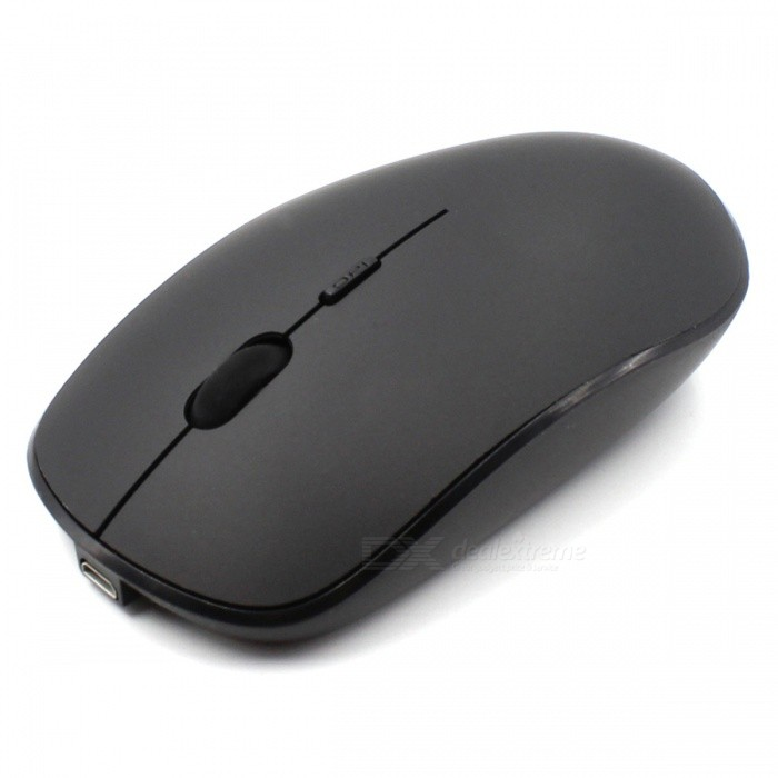 USB Rechargeable 2.4G Wireless Silent Mute Optical Mouse for LaptopWireless Mouse<br>ColorBlackQuantity1 pieceMaterialABSShade Of ColorBlackInterfaceUSB 2.0Wireless or Wired2.4G WirelessBluetooth VersionNoOperating Range10 mPowered ByBuilt-in BatteryBattery included or notNoSupports SystemWin xp,Win 2000,Win vista,IOS,LinuxPacking List1 x Mouse1 x USB cable1 x Receiver<br>