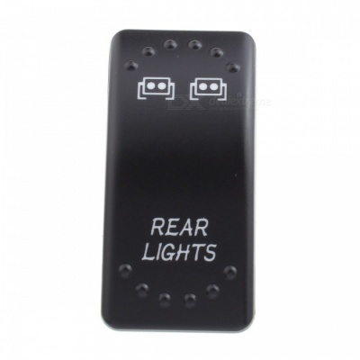 MZ Rear Light Pattern 5 Pin On/Off Rocker Toggle Switch for LED Work Light