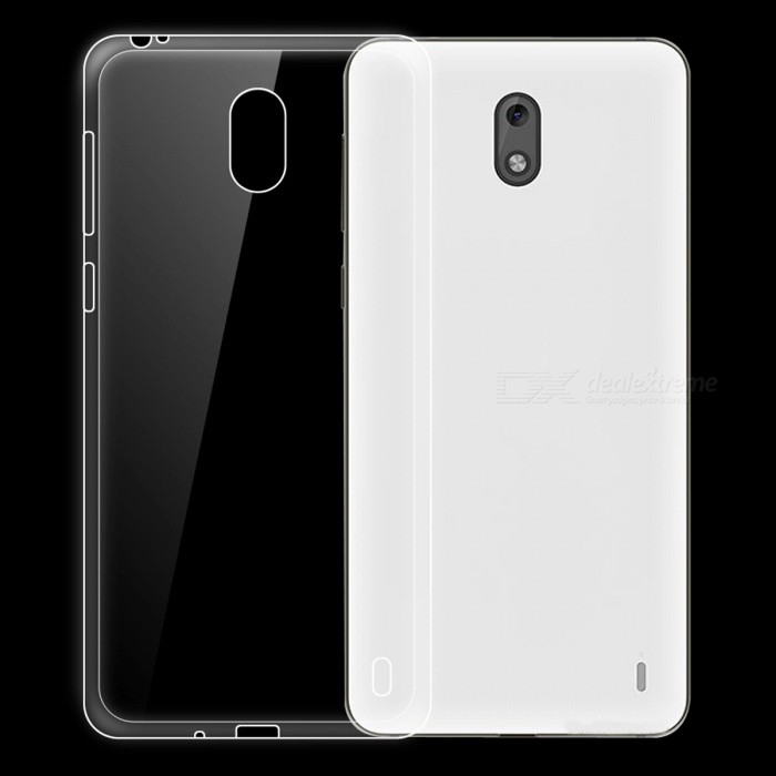 Ultra-thin Clear TPU Back Case for Nokia 2TPU Cases<br>ColorTransparentModelN/AMaterialTPUQuantity1 pieceShade Of ColorTransparentCompatible ModelsNokia 2Packing List1 x Case<br>