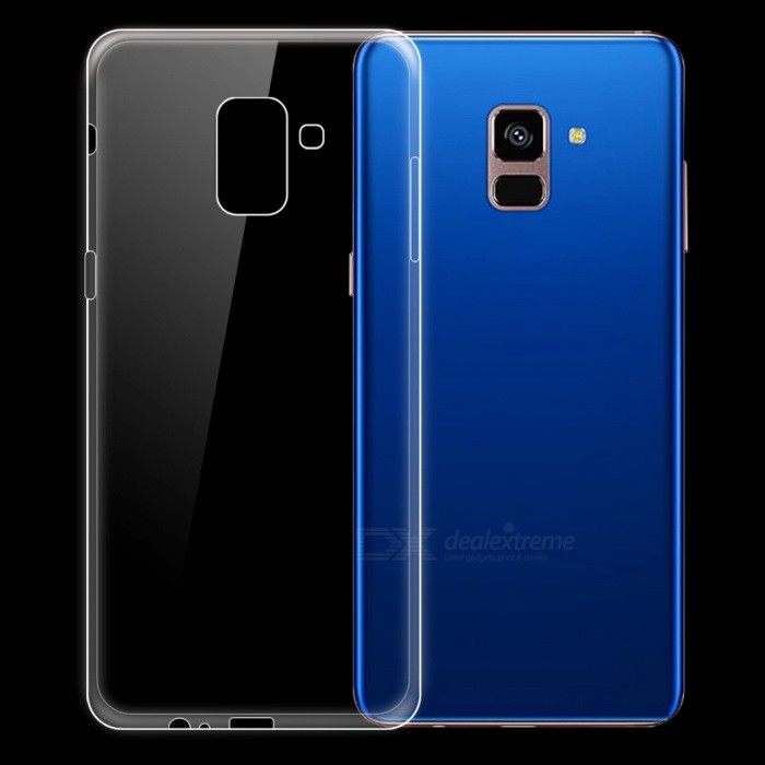 buy online f2dac 3295d Ultra-thin TPU Back Case for Samsung Galaxy A8+ (2018), A8 Plus 2018, A730