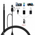 3-in-1-55mm-Lens-13MP-HD-720P-6-LED-Waterproof-USB-Type-C-Ear-Cleaning-Tool-Endoscope-for-Android-PC-Black-(2M)