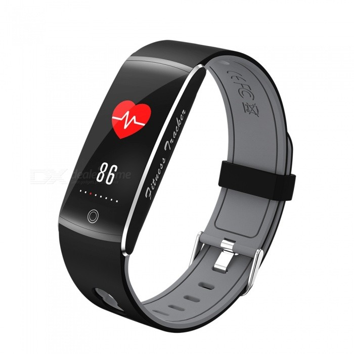F10 IP68 Waterpoof 0.96 Inch Smart Bracelet with Caller Reminder, Heart Rate Blood Pressure Monitor