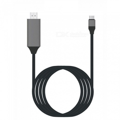 Dayspirit USB 3.1 Type-C to HDMI Converter Cable - Black