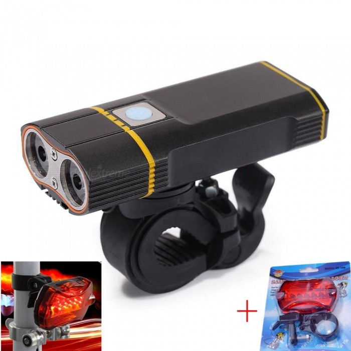 Super-Bright-Bicycle-Light-USB-Rechargeable-2000LM-Headlight-Front-Light-Easy-Installation-Cycling-Flashlight-for-Safty-Riding