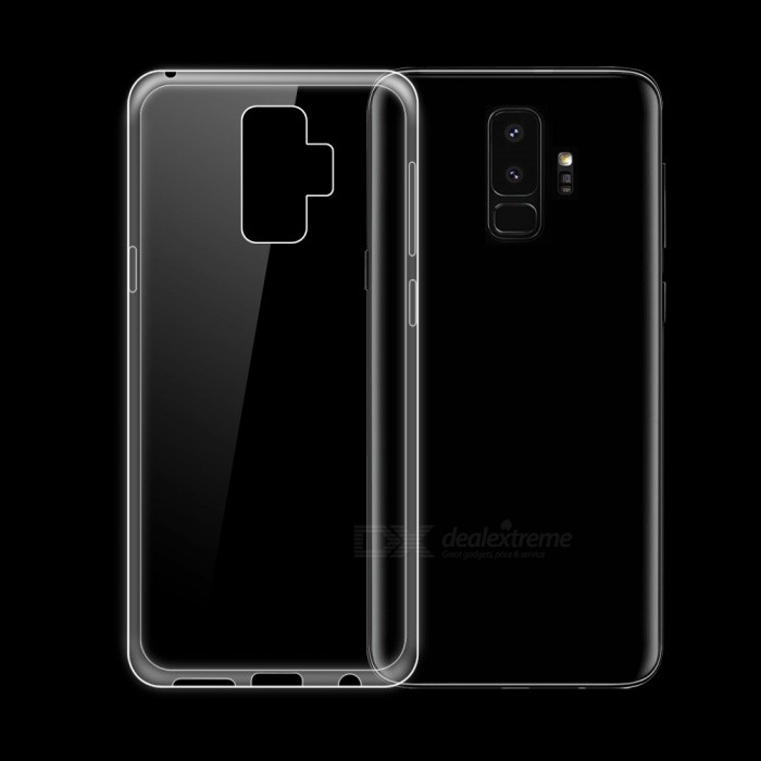 pretty nice 6e56a 46578 Ultra-Thin Protective Clear Transparent Flexible TPU Back Cover Case for  Samsung Galaxy S9 Plus